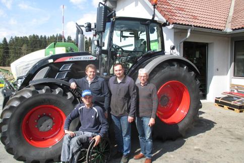 Traktoruebergabe